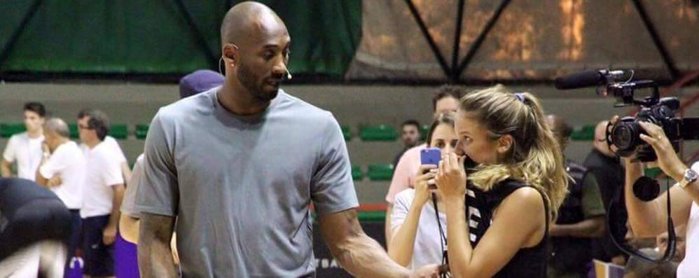 Cabiate, la favola di Camilla  «Io, sul parquet con Kobe Bryant»