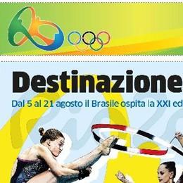 Oggi in regalo con La Provincia   l'inserto sulle Olimpiadi