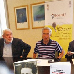 Premio Manzoni 2016 , scelti i tre finalisti  Adesso il voto popolare