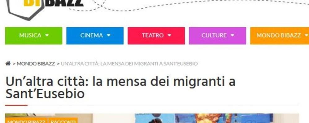Le storie di bibazz.it  La mensa dei migranti