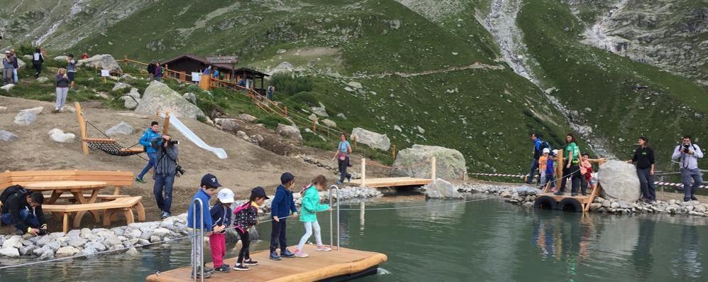 Park Experience, il Monte Bianco  ringrazia un'azienda di Como
