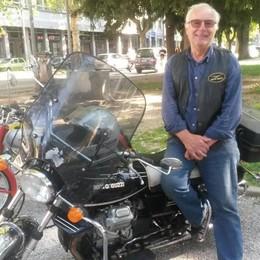 """Ecco la Moto Guzzi  utilizzata da Celentano  per il film """"Asso"""""""