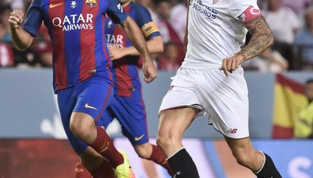 Calcio: Supercoppa, Siviglia-Barca 0-2