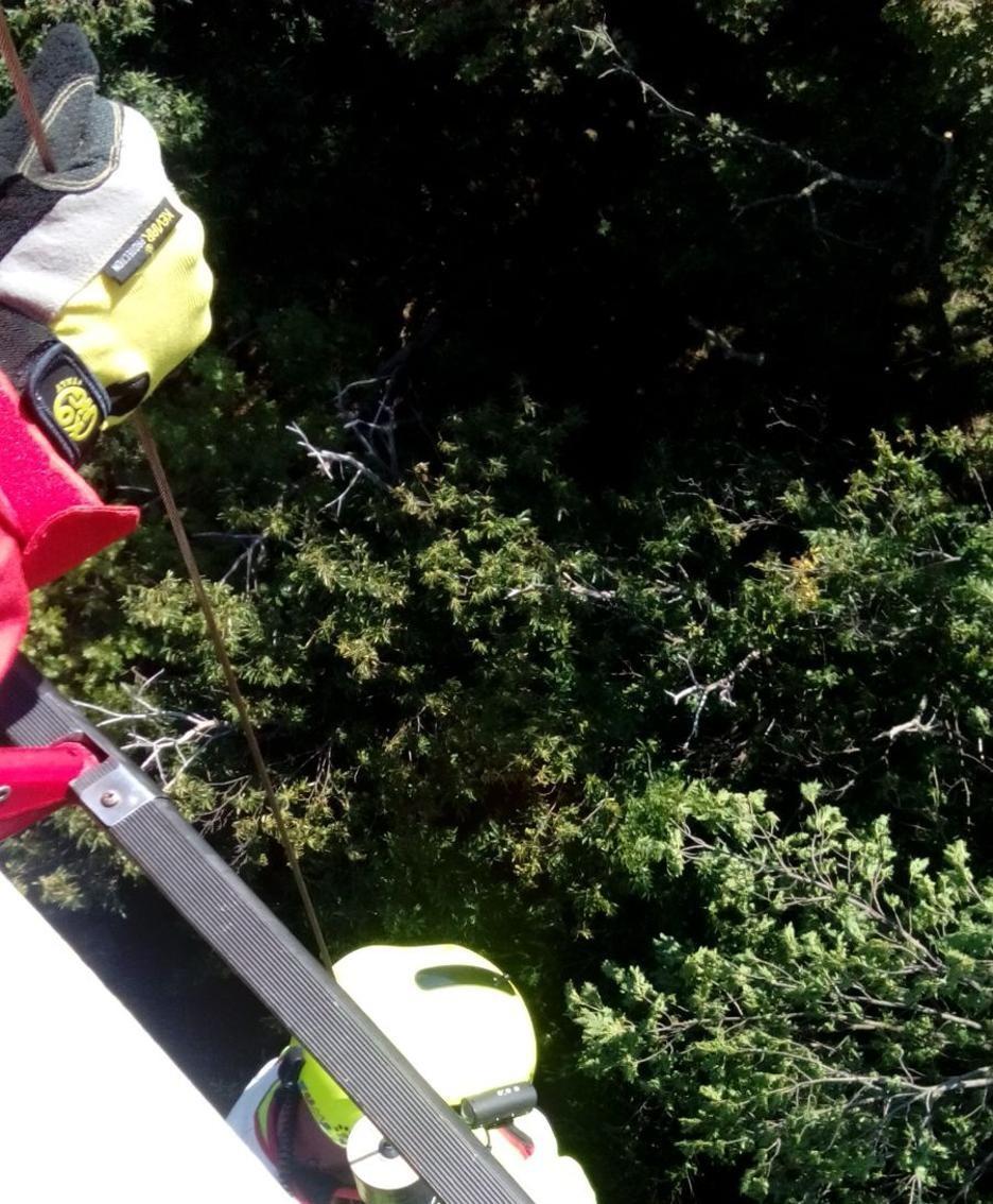 Brunate - Escursionisti salvati dai vigili del fuoco