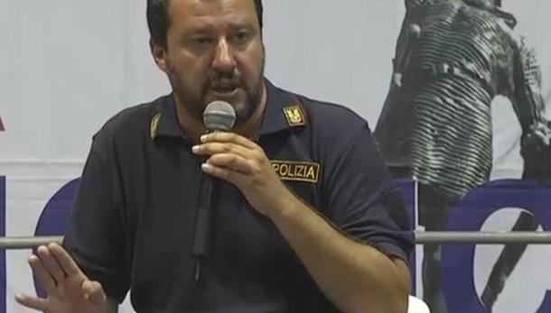 Salvini, indosserò ancora maglietta Ps