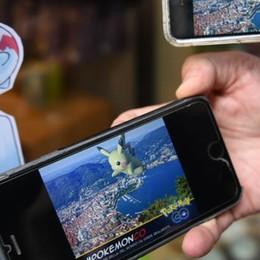 Como, 500 Pokemon Co  sui muri del centro storico  È la versione laghée del gioco