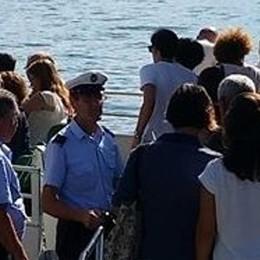 L'estate su lago sta finendo  Ma i turisti aumentano