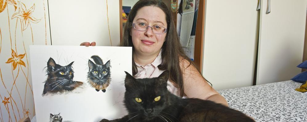 Professione, ritrattista d'animali «I miei modelli? Cani, gatti e rane»
