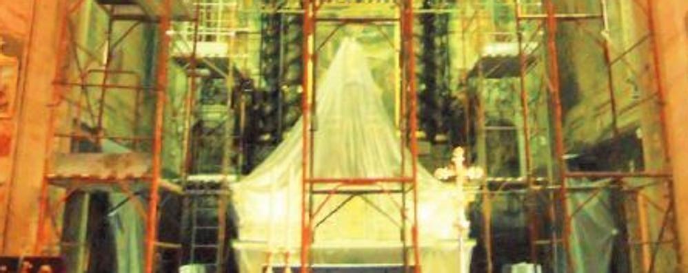 Castiglione, la chiesa crolla  Dopo quattro anni i soldi per i lavori
