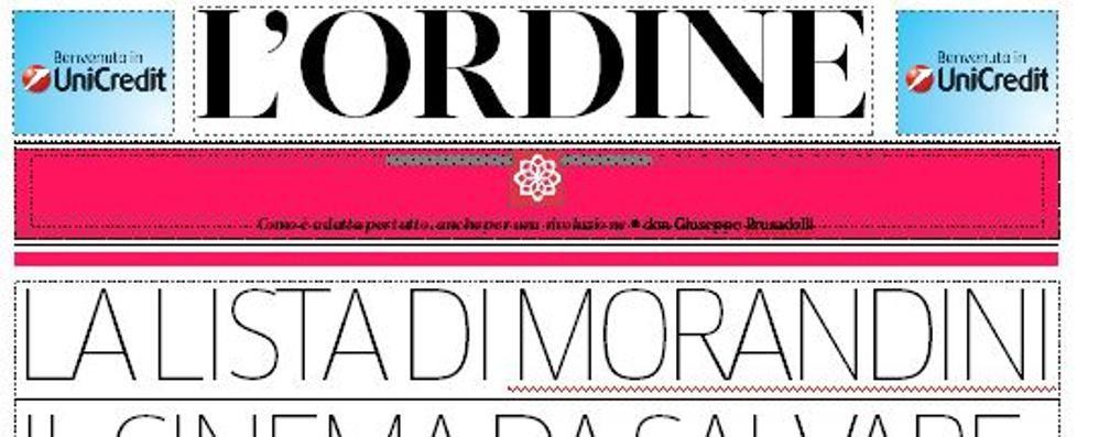 Morandini, Madre Teresa di Calcutta  e Antonio Cederna su L'Ordine