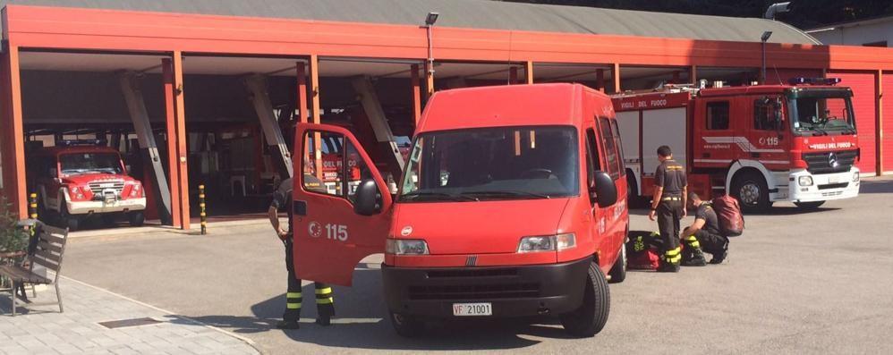 I vigili del fuoco di Como in aiuto nei paesi del terremoto