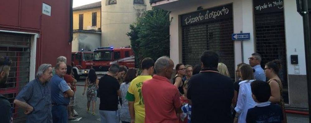 Esplosione a Cirimido  Fiamme nella pizzeria