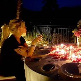 Wanda e Mauro Icardi  La notte da favola al Grand Hotel