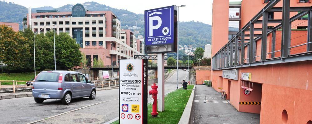 Quei tre parcheggi vicini al centro  Il sabato sono sempre semivuoti
