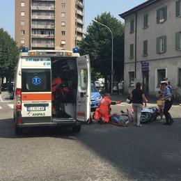 Incidente a San Bartolomeo  Un ferito e traffico in tilt