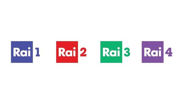 Nuovo design per i loghi delle reti Rai