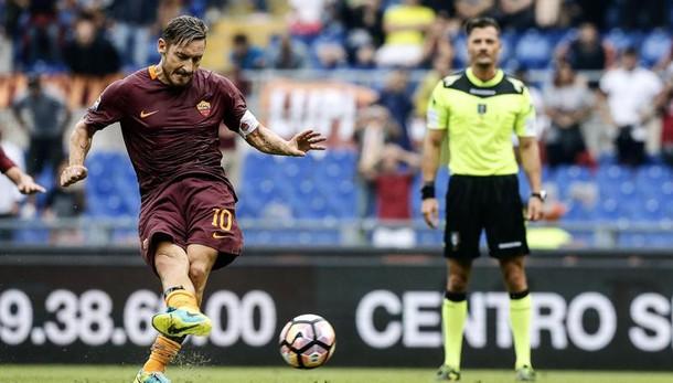 Serie A: Roma-Sampdoria 3-2