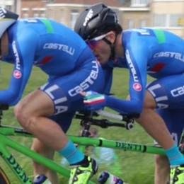 Nella cronometro delle Paralimpiadi  Settimo il tandem di Panizza e Bersini