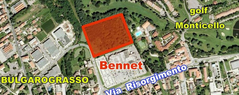 Cassina, Bennet vuole crescere  Sfida tra supermercati