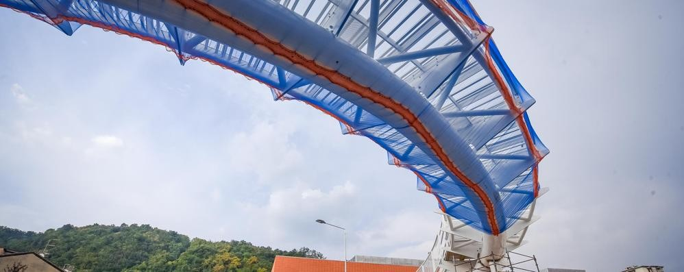 Via Badone, il ponte sarà solo pedonale  Restano i semafori per bici e carrozzine