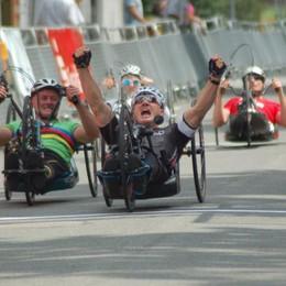 Paralimpiadi, che gioia  Oro handbike per Cecchetto