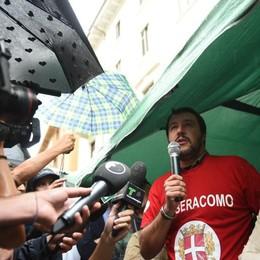 Salvini a Como  ha visitato la stazione