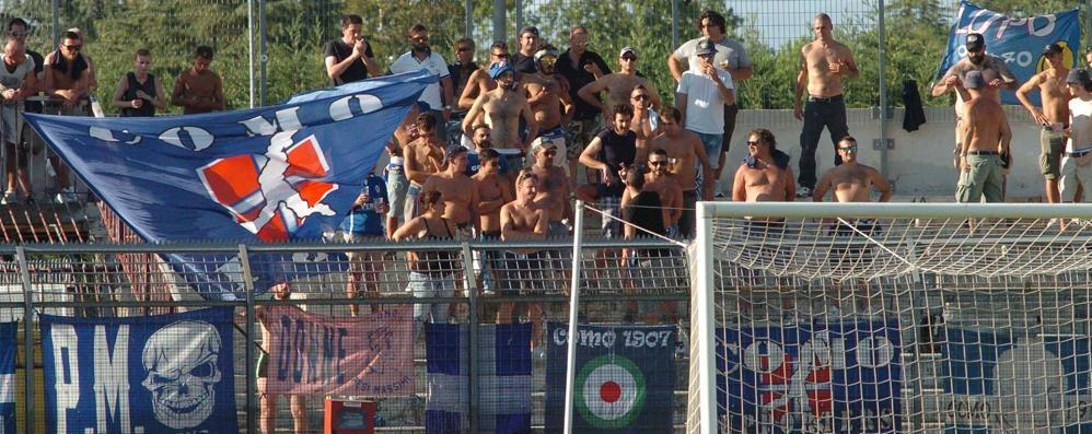 Amichevole con l'Atalanta  vietata ai tifosi del Como