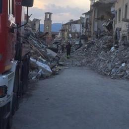 Pompieri comaschi ad Amatrice Nelle case distrutte dal sisma