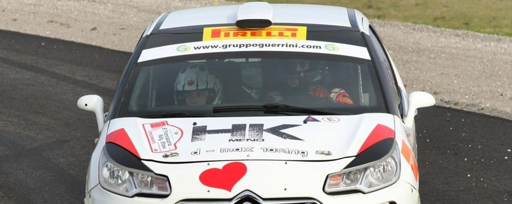 Rally delle Valle Cuneesi  Famiglia Re in gara