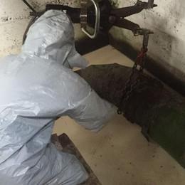 Ex Falck, scoperta vasca  con ventimila litri di olio