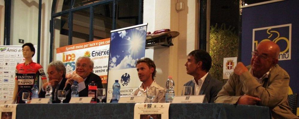 Cunego ospite allo Yacht Club  «Il mio Lombardia vinto con rabbia»