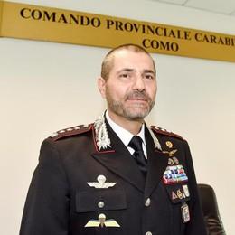 Nuovo comandante dei carabinieri  «Massimo impegno contro i furti»