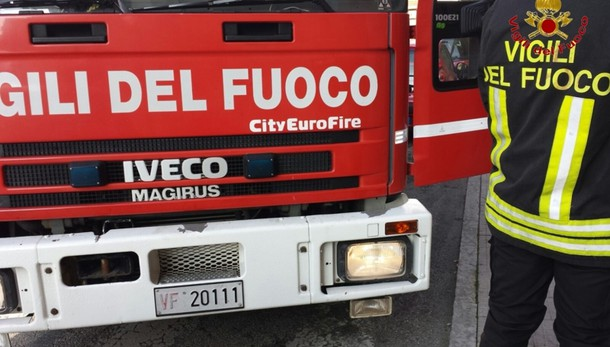 Crolla palazzina in centro a Roma