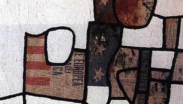 Burri e gli altri, dipingere con materia
