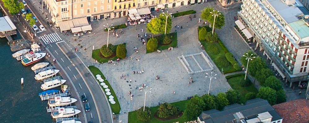 Piazza Cavour, bando per il verde  Lo sponsor rinuncia e se ne va