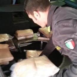 In dogana con 17 kg di coca  Croato arrestato dai finanzieri