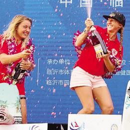 Coppa del Mondo Wakeboard  In Cina la Gregorio è d'argento