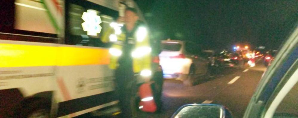 Quattro feriti a Cermenate  Scontro in via Europa Unita