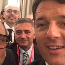 Renzi tifa Como dalla Cina  «Bravi, portate eccellenza»