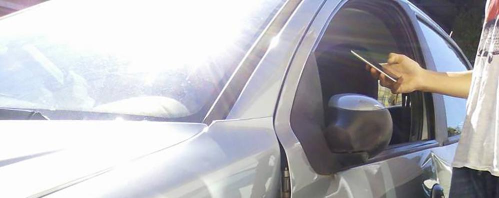 Auto rubata a Canzo  Ritrovata distrutta