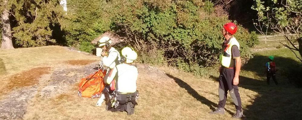 Escursionista trovato morto  all'alpeggio di Dervio