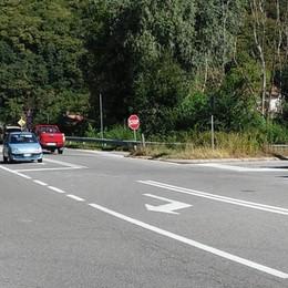 Gera, strada pericolosa  Firme dopo l'incidente