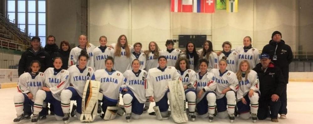 Hockey Como, molto bene le tre azzurrine dell'U18