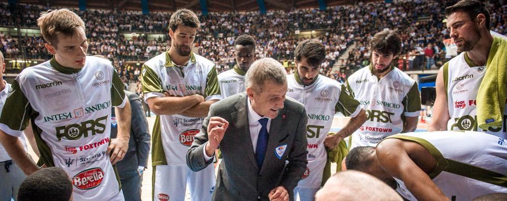 Coach Bolshakov ribadisce  «Mi scuso per quei 10 minuti»