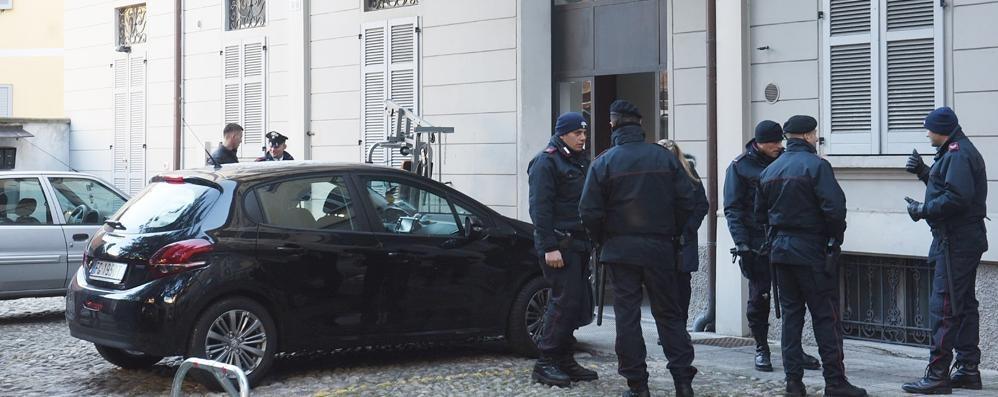 Case occupate abusivamente  Sgombero in piazza San Rocco