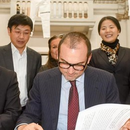 «Apro la sede Ied in Cina  e aiuto il tessile lariano»