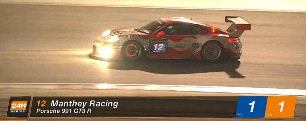Cairoli, il comasco con la Porsche  Da Dubai alle 24 ore di Daytona