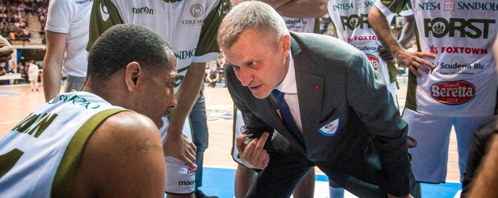 Bolshakov: «La squadra ideale?  Non è ancora questa Cantù»