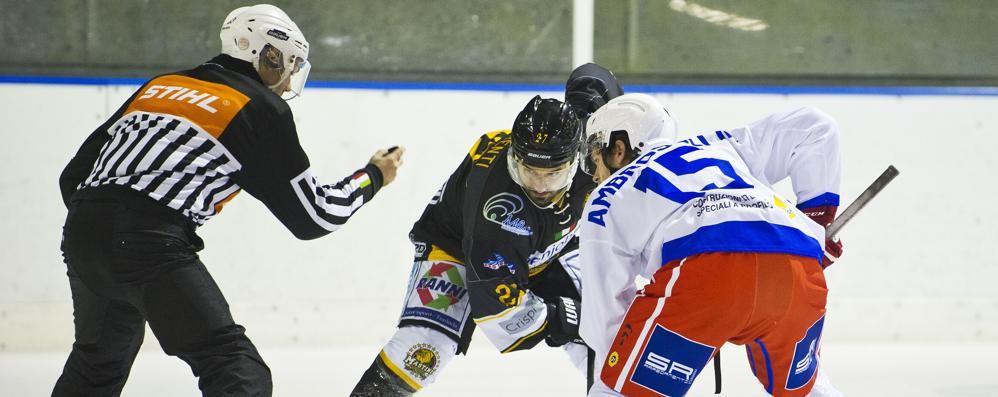 Hockey Como: non cambia Altra partita a porte chiuse