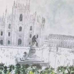 Piazza Duomo fiorita per il Papa  grazie a un'azienda di Carugo